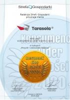 Tarasola z godłem Konsumencki Lider Jakości 2020