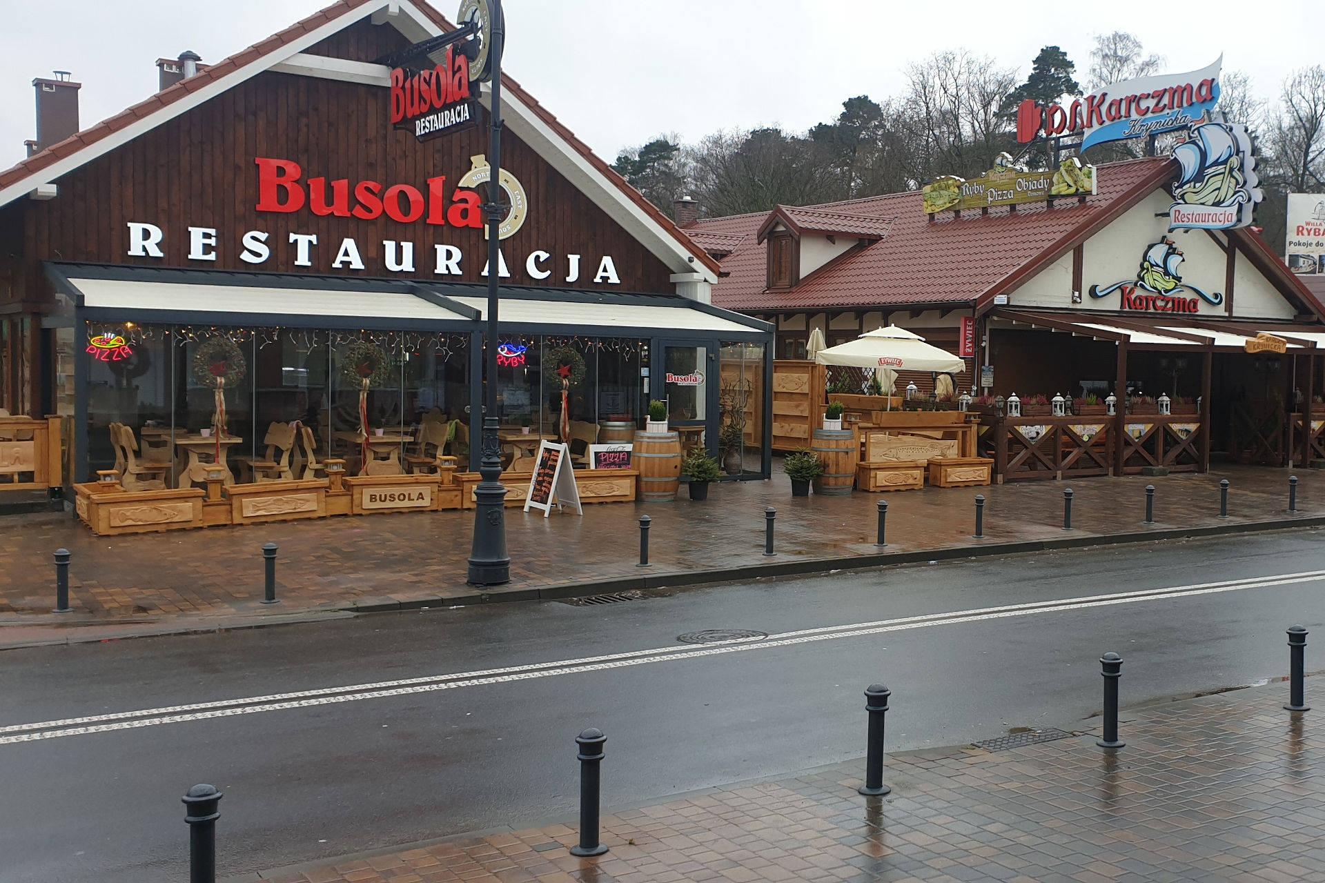 Restauracja Busola, Krynica Morska